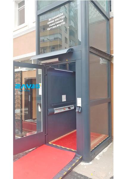 dış mekan engelli asansörleri