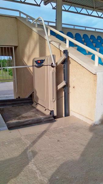 düşey platform asansör