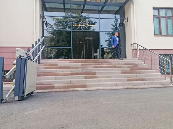 düz yatay platform asansörü