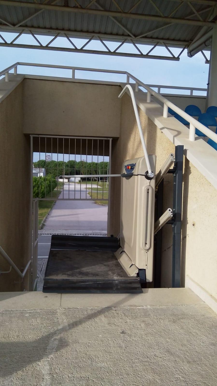 eğimli platform merdiven asansörleri
