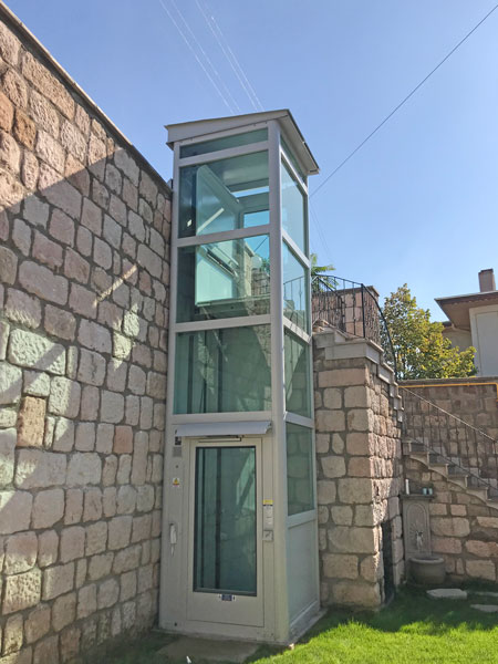 hidrolik ev asansörleri