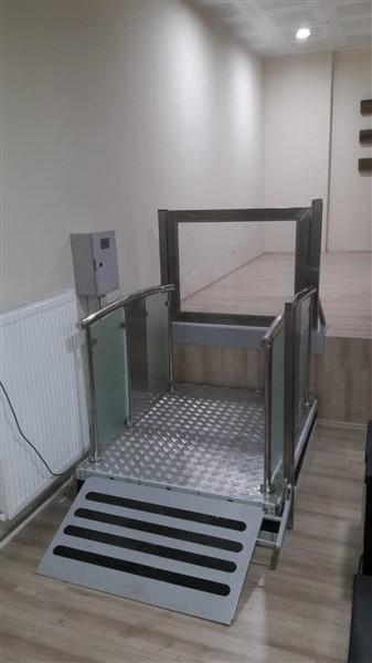 hidrolik makaslı engelli asansörleri