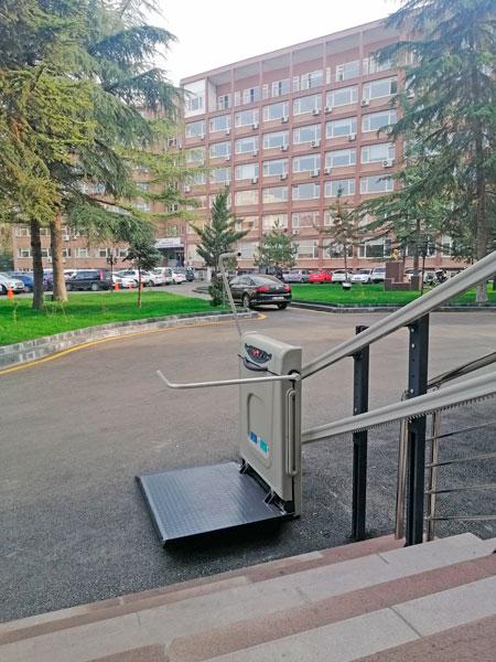 katlanabilir merdiven tipi engelli platformları yerli imalat yaşlı asansörleri