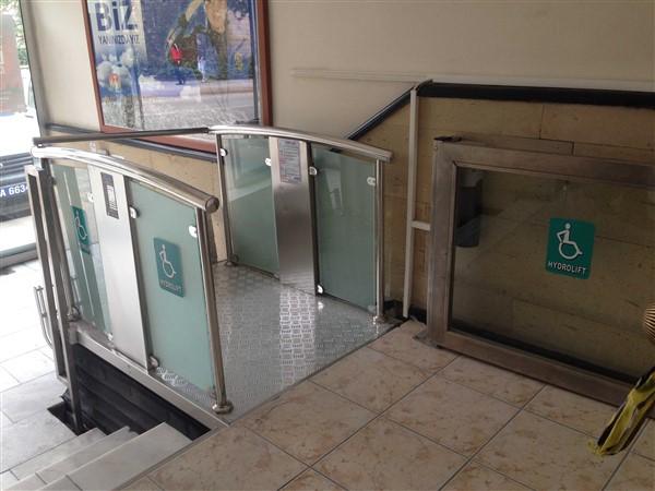 makaslı engelli platformları