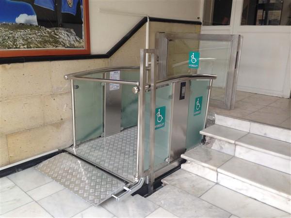 makaslı platform asansörü