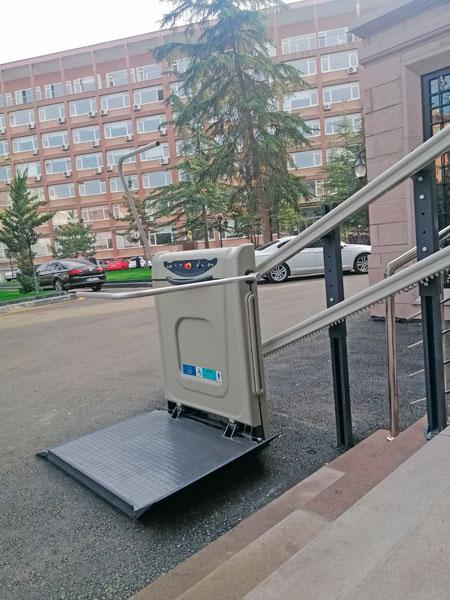 yatay katlanabilir merdiven tipi engelli platformları yerli imalat