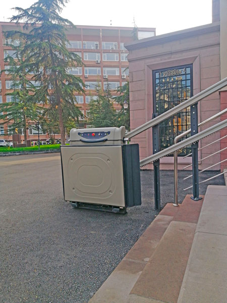 yatay platform tipi merdiven asansörü