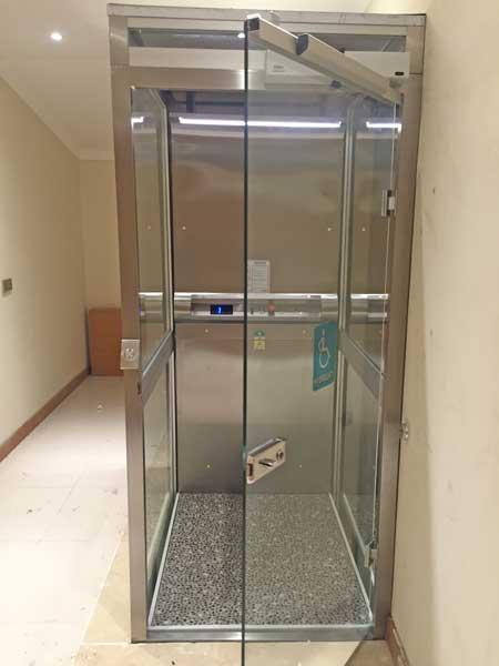 cam kapılı homelift