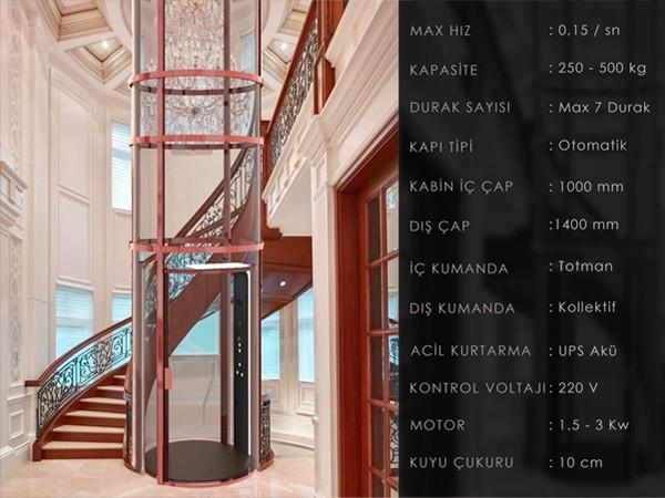 devas tüp asansör