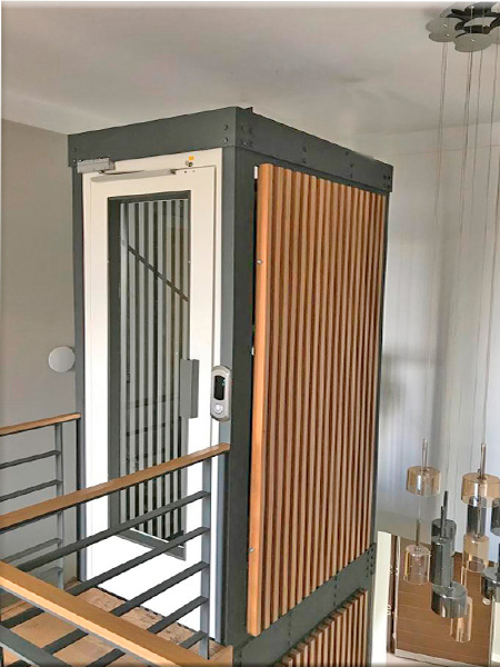 iç mekan homelift asansörler