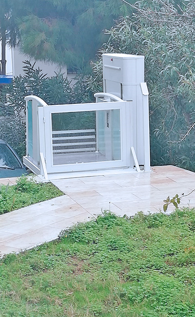 açık engelli platform asansör