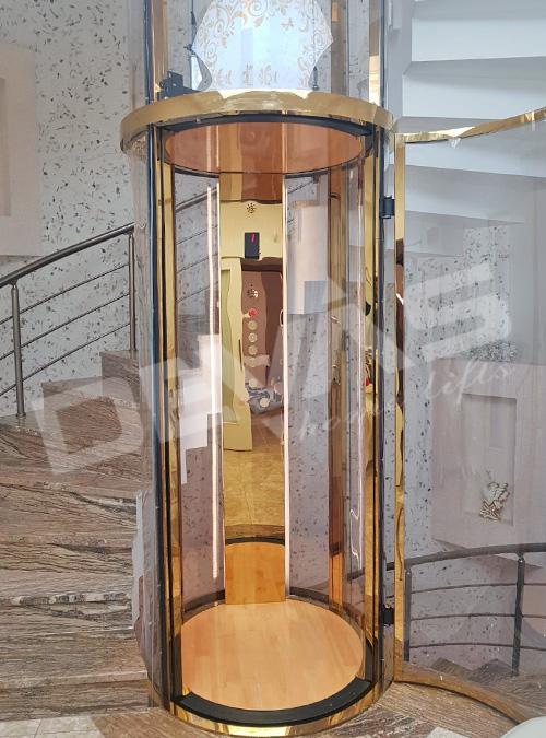 tube ev asansörü sistemleri